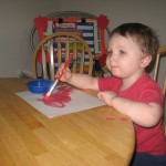 Sticky Hands: Art &amp; Craft Time With Mommy