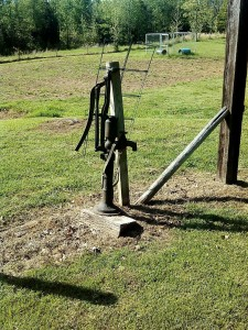 My Aunt's Water Pump Still Stands Today!