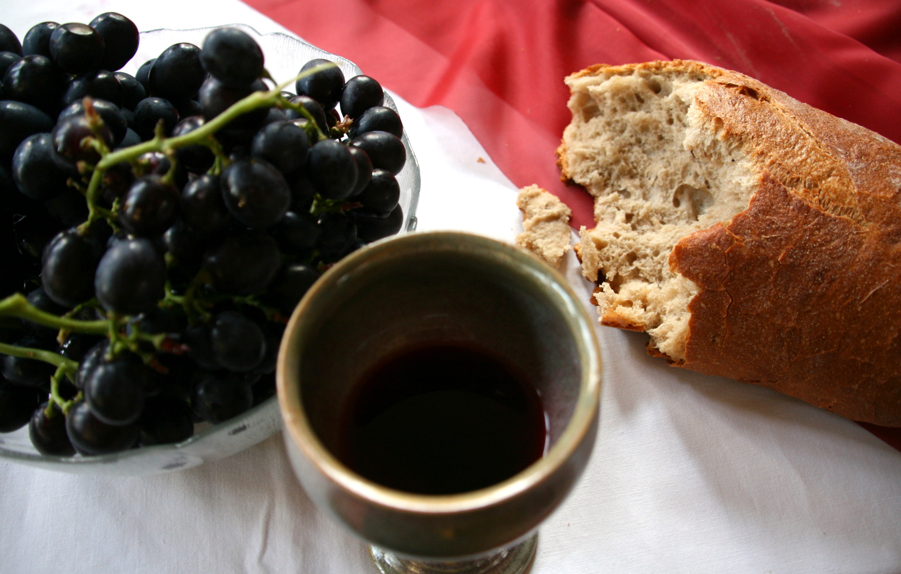 A lesson plan for The Last Supper and Communion at Raising Sticky Hands To Heaven