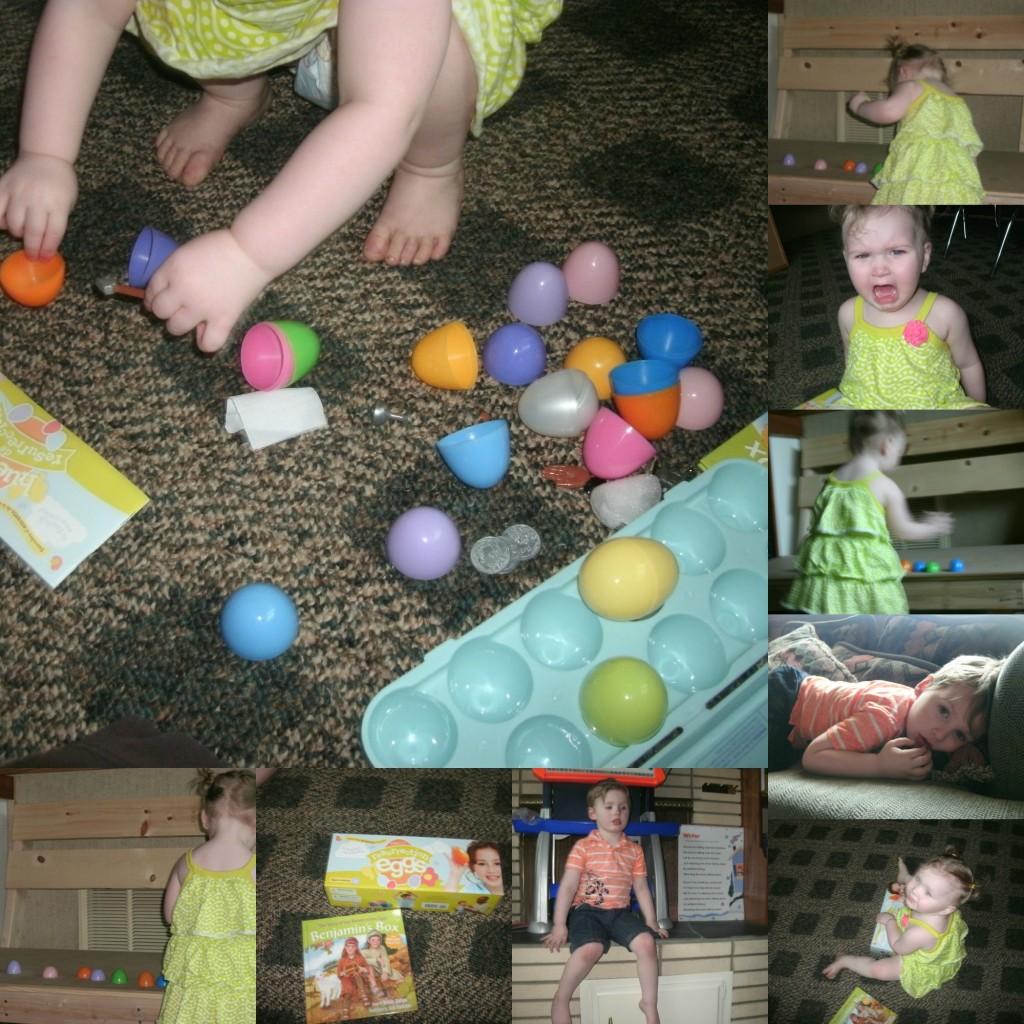 Resurrection Eggs Collage