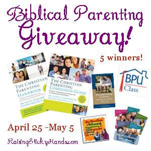 Biblical Parenting Giveaway