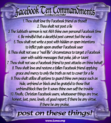 FB10Commandments