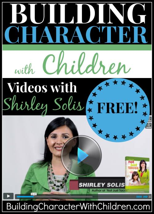 Building Character with Children Videos with Shirley Solis