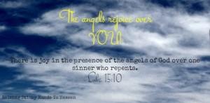 Luke 15:10 - Raising Sticky Hands To Heaven