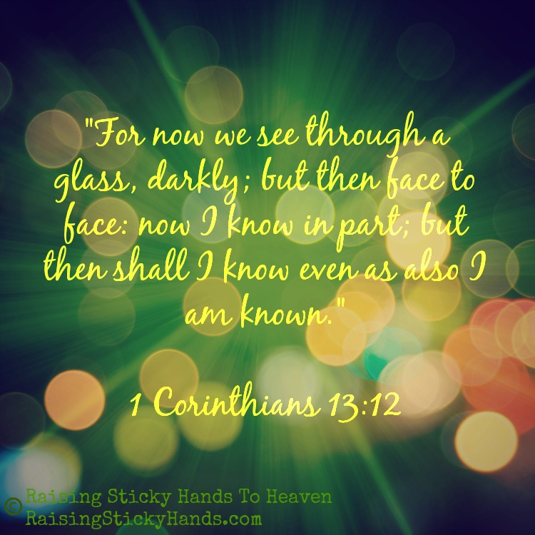 Where Are Your Eyes 1 Corinthians 13:12